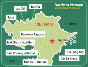 northen-vietnam-map-highlight-tour-route